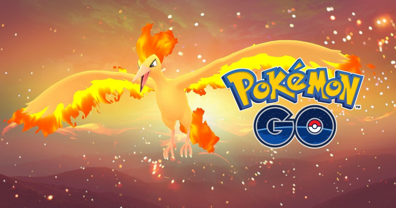 pokemon go legendary moltres
